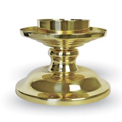 Base Donzela Dupla Dourada 9,5 X 13,5 CM