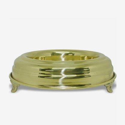 Base donzela simples dourada