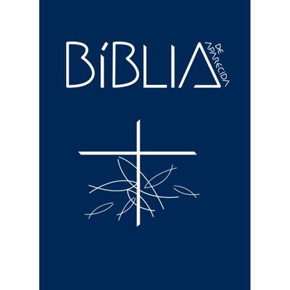 Biblia Sagrada de Aparecida Capa Cristal