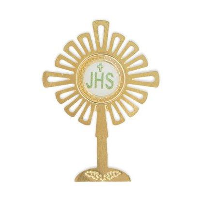 Boton Ostensório Dourado 3 cm