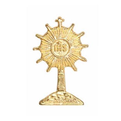 Boton Ostensório Dourado 2 cm