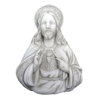 Imagem para Parede Sagrado Coração de Jesus em Mármore 28cm