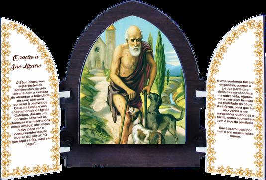 Capela Personalizado com Porta MDF Resinada 18 x 15cm