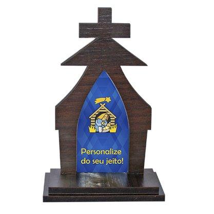 Capela Personalizado MDF 17 cm