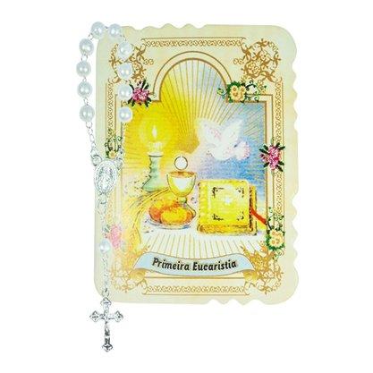 Cartão Dezena com Primeira Eucaristia - 10 unidades