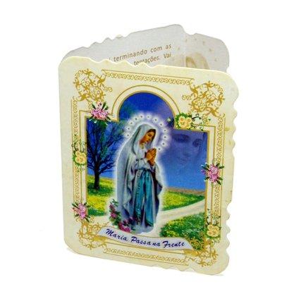 Cartão Maria Passa a Frente com 10 unidades