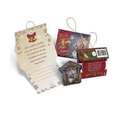 Cartão para Lembraça de Natal Sagrada Família