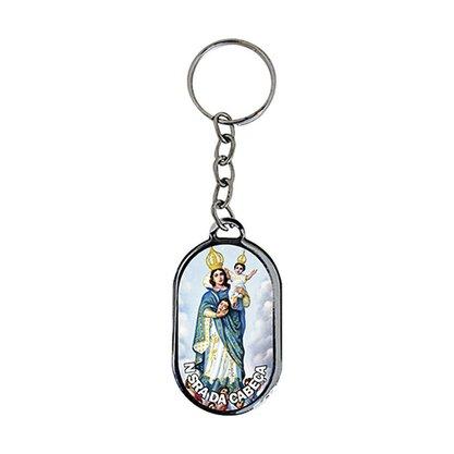 Chaveiro Chapa Nossa Senhora da Cabeça - Dúzia