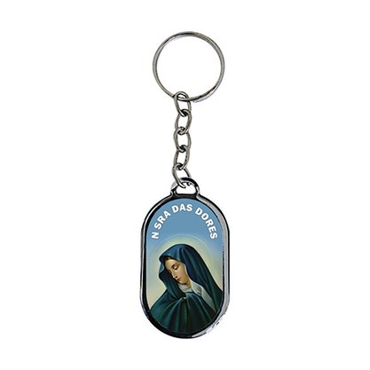 Chaveiro Chapa Nossa Senhora das Dores - Dúzia