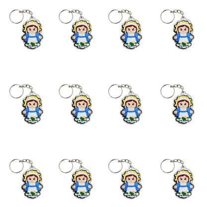 Chaveiro NS das Graças Infantil Cristal Preço da dúzia