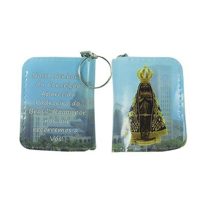 Chaveiro Preciosas Promessas Nossa Senhora Aparecida Basílica Médio