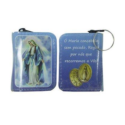 Chaveiro Preciosas Promessas Nossa Senhora das Graças Médio