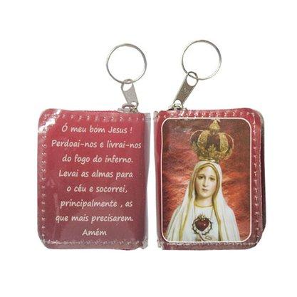 Chaveiro Preciosas Promessas Nossa Senhora de Fátima
