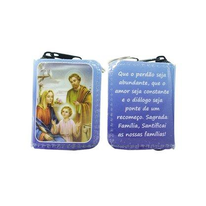 Chaveiro Preciosas Promessas Sagrada Família Médio