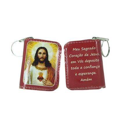 Chaveiro Preciosas Promessas Sagrado Coração de Jesus
