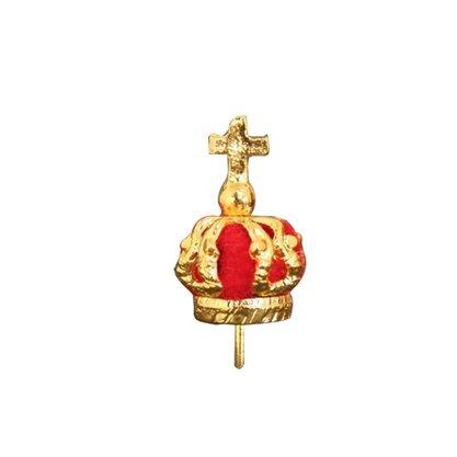 Coroa Banhada a Ouro - 3cm