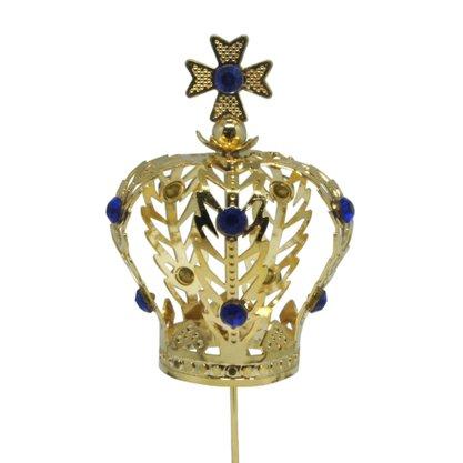 Coroa Dourada Para Imagem de Nossa Senhora 4 cm