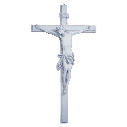 Crucifixo de Parede em Mármore 80cm
