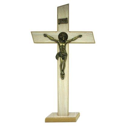 Crucifixo de Parede/Mesa MDF em Tirol 36 cm