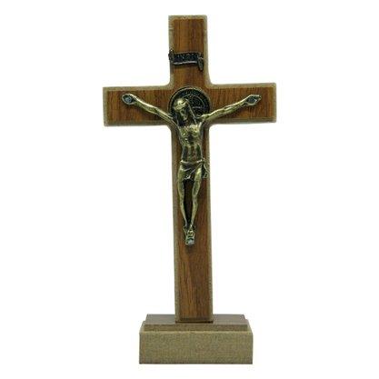 Crucifixo Parede/Mesa Mdf em Athenas 12 cm