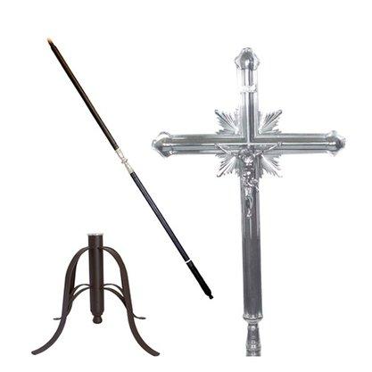 Cruz processional dupla completa