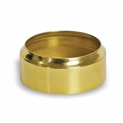 Economizador de Vela em Níquel Dourado 7cm