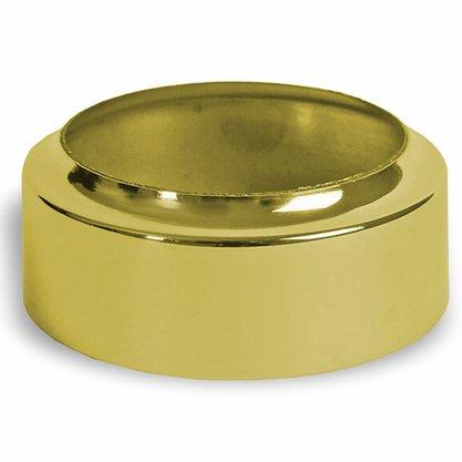 Economizador de Vela em Níquel Dourado  9 cm