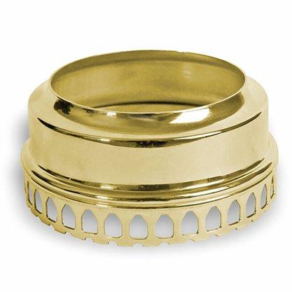 Economizador de Vela Luxo em Dourado  9 cm