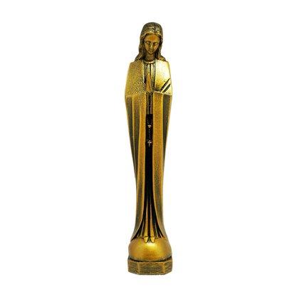 Imagem Nossa Senhora do Silêncio Bronze 18cm