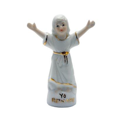 Imagem em Porcelana Divino Menino Deus - 10cm