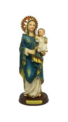 Imagem Resina Importada Nossa Senhora Auxiliadora - 22cm
