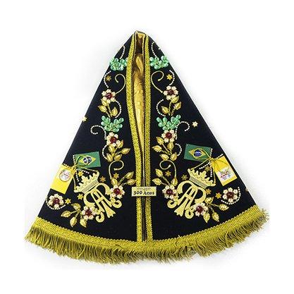 Manto Luxo 34cm para Imagem Facsímile de Nossa Senhora Aparacida