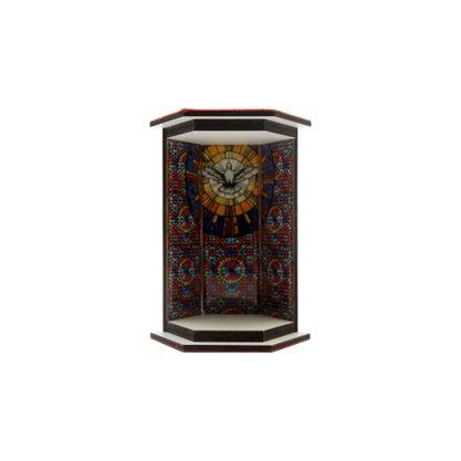 Oratório em MDF Fundo Divino Espirito Santo 12cm