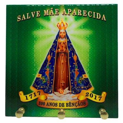Porta chave azulejo Nossa Senhora Aparecida