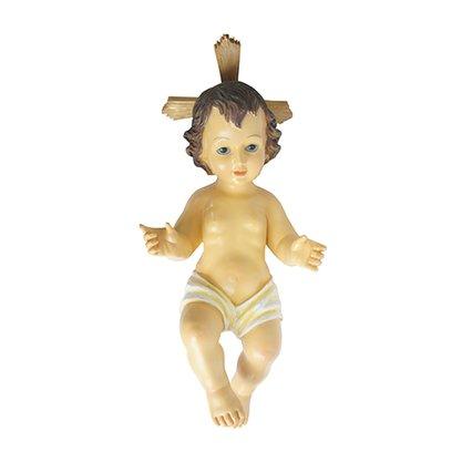 Resina Importada Menino Jesus Resplendor 45 cm