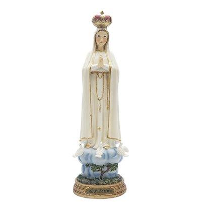 Imagem Resina Importada Nossa Senhora de Fátima - 40cm