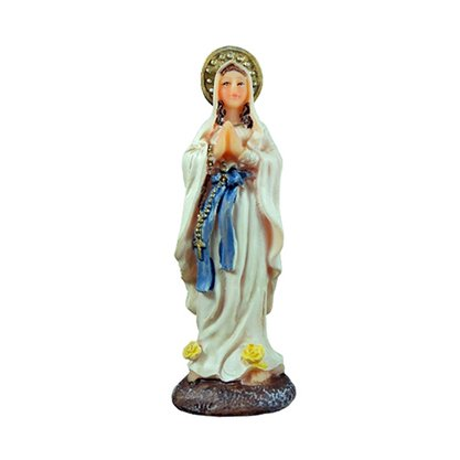 Imagem Resina Importada Nossa Senhora de Lourdes - 8cm