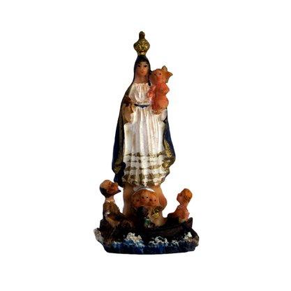 Imagem Resina Importada Nossa Senhora dos Navegantes - 8cm