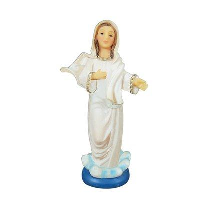 Imagem Resina Importada Nossa Senhora Rainha da Paz - 10cm