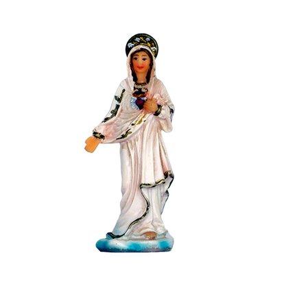 Resina importada Sagrado Coração de Maria 7cm