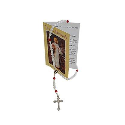 Terço da Misericórdia com Oração - Contém 6 Unidades