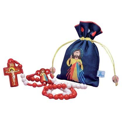 Terco Infantil Jesus Misericordioso Saquinho