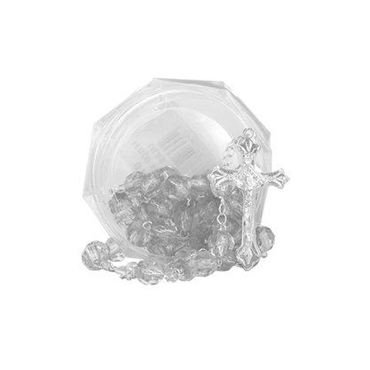 Terco Semi Cristal Transparente Caixa 8mm