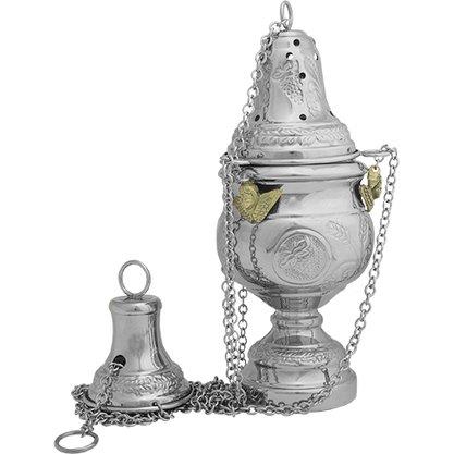 Turíbulo grande prata