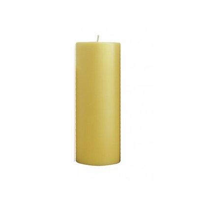 Vela Altar 20 cm x 9 Amarela