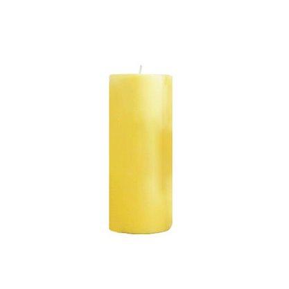 Vela Altar 20cm x 7cm amarela