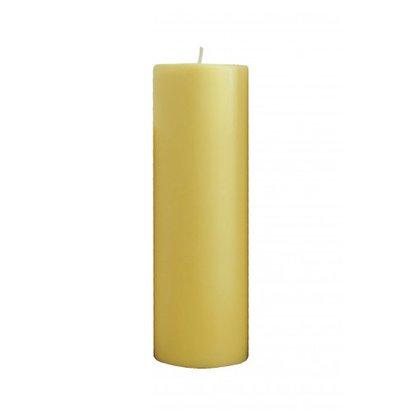Vela Altar 25cm x 9cm amarela