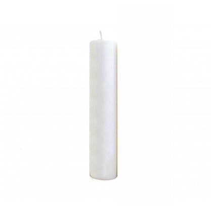 Vela Altar 30cm x 9cm Branca