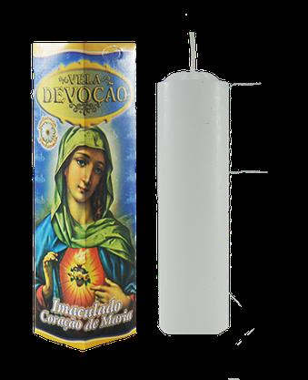 Vela Devoção Sagrado Coração de Maria