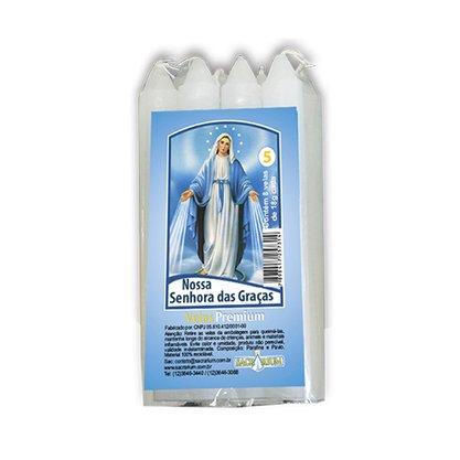 Vela Maço Premium n°5 Nossa Senhora das Graças